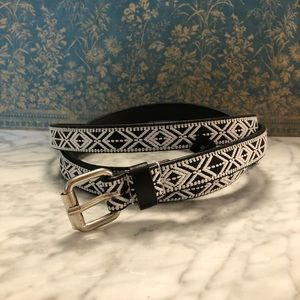 Torrid Thin Tribal Embroidered Belt